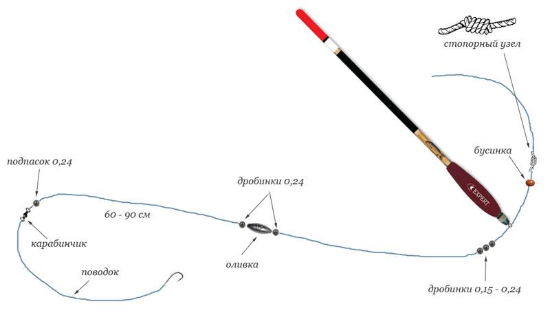 ловля карпа на технопланктон со дна