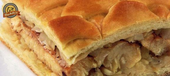 пирог из щуки с картошкой