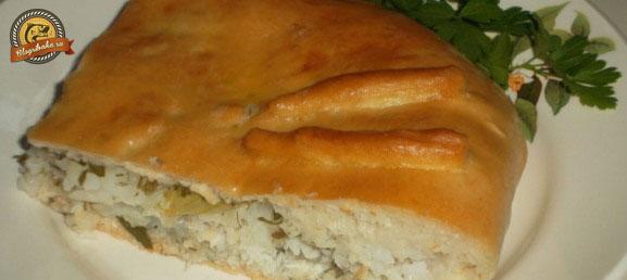 пирог из щуки с рисом