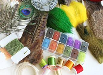 материал для вязания мушек